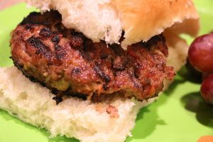 Papa George's Zesty Asian Pork Burgers